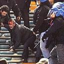 Man Utd fans clash with Roman police