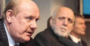 Brian Barwick and the FA's board announces Steve McClaren's sacking