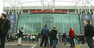 Fans outside Old Trafford