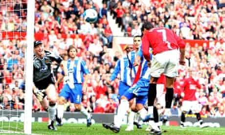 Ronaldo scores against Wigan