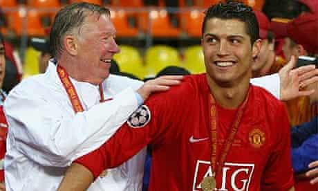 Sir Alex Ferguson and Cristiano Ronaldo