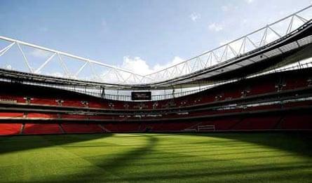 Arsenals' Emirates Stadium