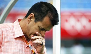 Dunga has come under increased pressure since Brazil's 3-0 semi-final defeat to Argentina at the Olympics