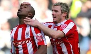 Ricardo Fuller and Liam Lawrence, Stoke City