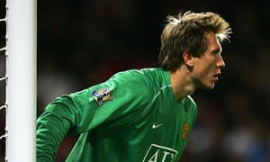 Manchester United's Tomasz Kuszczak