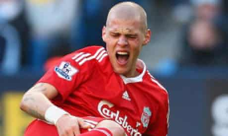 Martin Skrtel will discover within the coming 24 hours how long a cruciate injury will keep him out of action. Photograph: Richard Heathcote/Getty Images