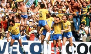 Brazil's underachieving World Cup side of 1982