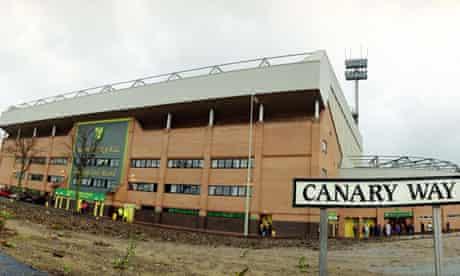 Norwich City's Carrow Road stadium