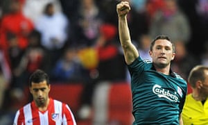Robbie Keane celebrates