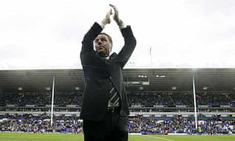 Harry Redknapp acknowledges the Tottenham Hotspur fans