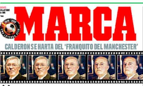 Marca front page, October 30
