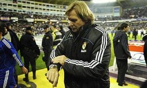 Real Madrid coach Bernd Schuster