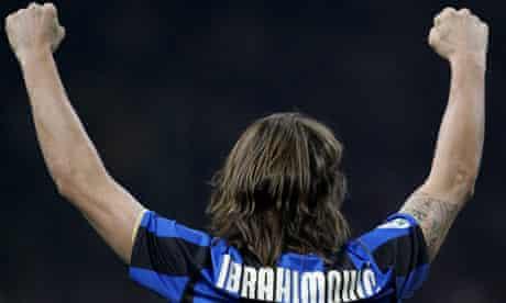 Internazionale forward Zlatan Ibrahimovic