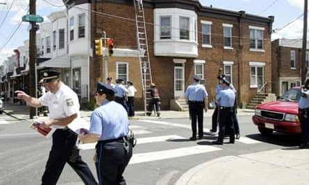 Streets of Philadelphia to illustrate Steven Wells piece
