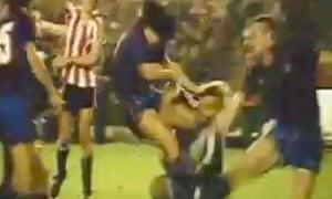 Diego Maradona gains revenge on Athletic Bilbao