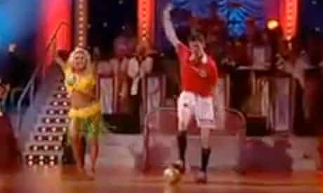 Tore Andre Flo on Norway's Dancing With The Stars