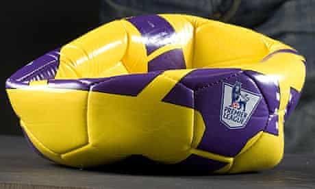 A flat football