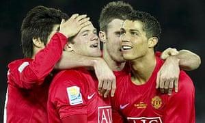 Wayne Rooney and Manchester United celebrate
