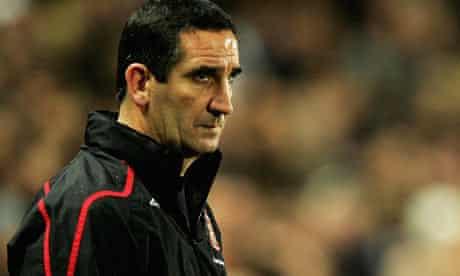 Sunderland's manager Ricky Sbragiae