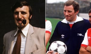 Jimmy Hill and Terry Neill