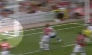 Crystal Palace disallowed goal