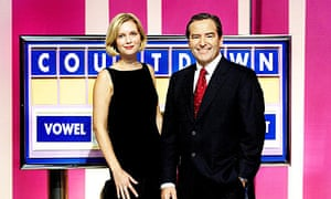 New Countdown hosts Rachel Riley and Jeff Stelling