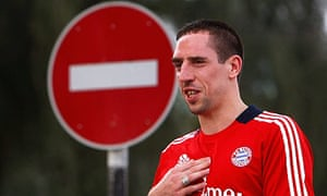 Bayern munich hold onto franck ribry for now football the guardian franck ribery voltagebd Images