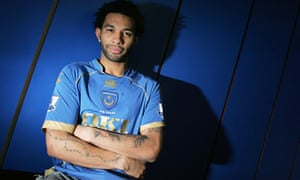 Jermaine Pennant has signed on loan at Fratton Park until the end of the season