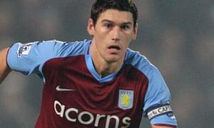 Aston Villa's Gareth Barry