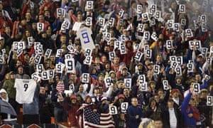 USA football fans