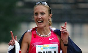 Paula Radcliffe New York Half-Marathon