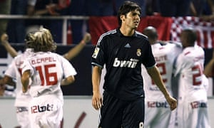 Dejection for Real Madrid's Kaka