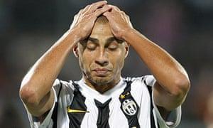 Juventus forward David Trezeguet