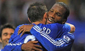 Drogba and Lampard