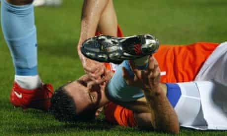 Robin van Persie of Holland Arsenal