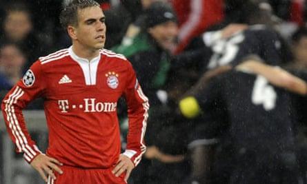 Philipp Lahm of Bayern Munich