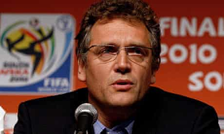 Jerome Valcke said it was 'sad' that everyone should be stuck talking about one game