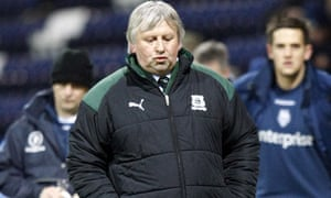 Paul Sturrock, the former Plymouth manager