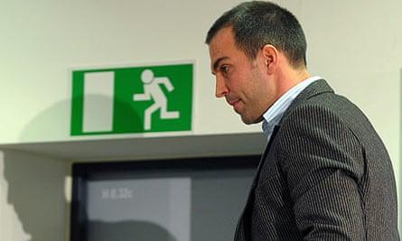 Markus Babbel, the sacked coach of Stuttgart