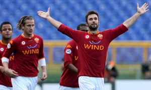 Mirko Vucinic - As Roma vs Livorno
