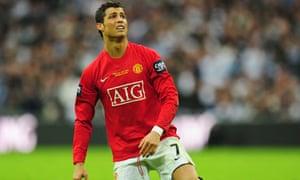 Manchester United v Tottenham Hotspur, Cristiano Ronaldo