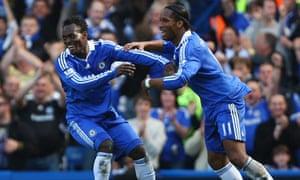 Michael Essien - Chelsea v Manchester City
