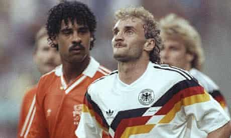 Rudi Voller and Frank Rijkaard