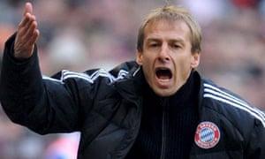Jurgen Klinsmann Bayern Munich