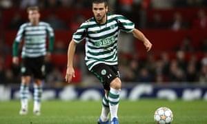 Sporting Lisbon's Miguel Veloso