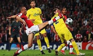 Mikael Silvestre Arsenal Champions League