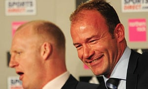 Alan Shearer and his new assistant Iain Dowie
