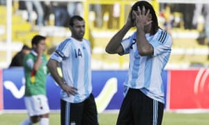 Marcela Mora Y Araujo On Argentina S 6 1 Loss To Bolivia In A World Cup Qualifier Sport The Guardian