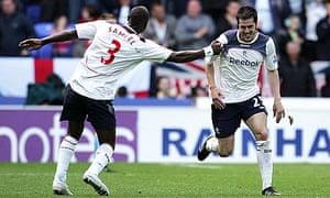 Tamir Cohen, Premier League, Bolton Wanderers v Aston Villa - Reebok Stadium