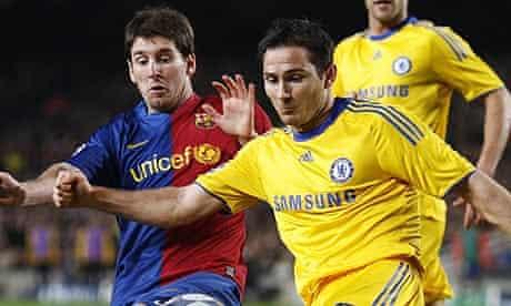 Barcelona v Chelsea